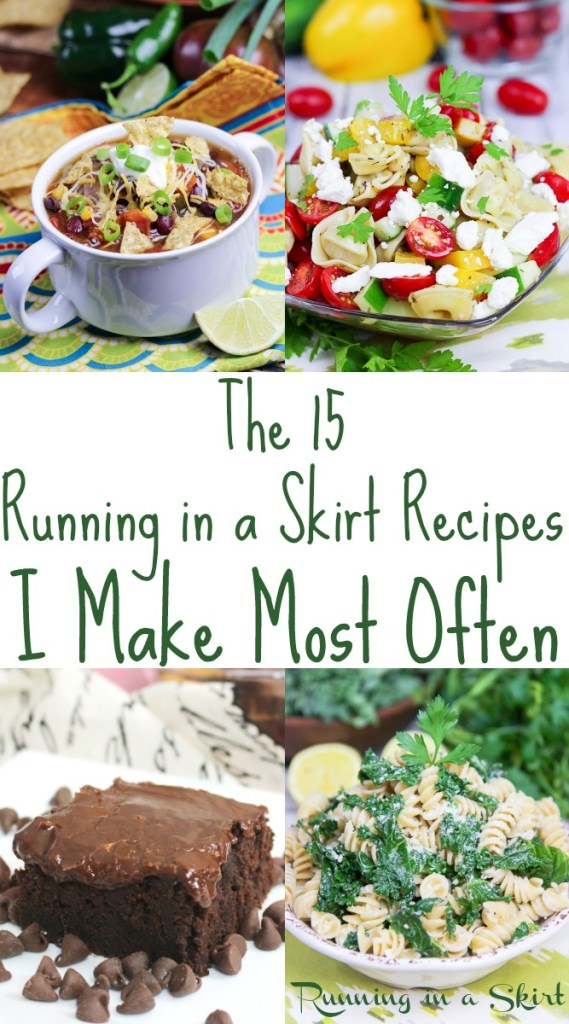 Easy Healthy Blog Recipes to make today / Running in a Skirt