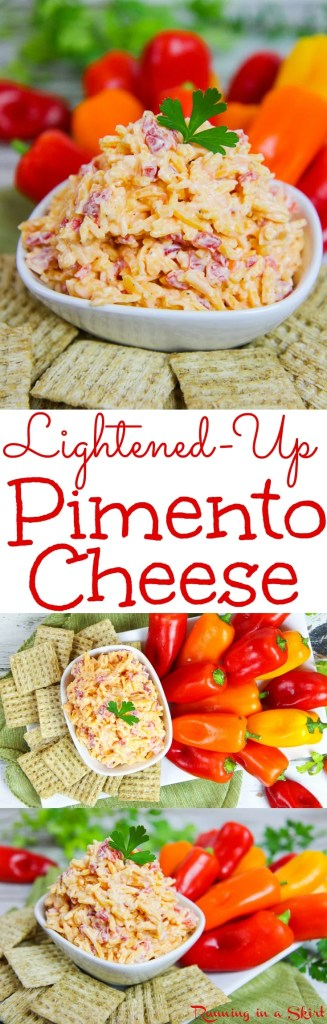 Light Pimento Cheese recipe / Running in a Skirt