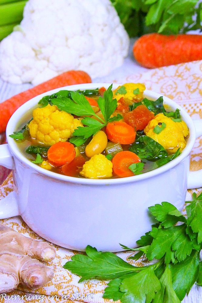 Crock Pot Vegetarian Detox Soup
