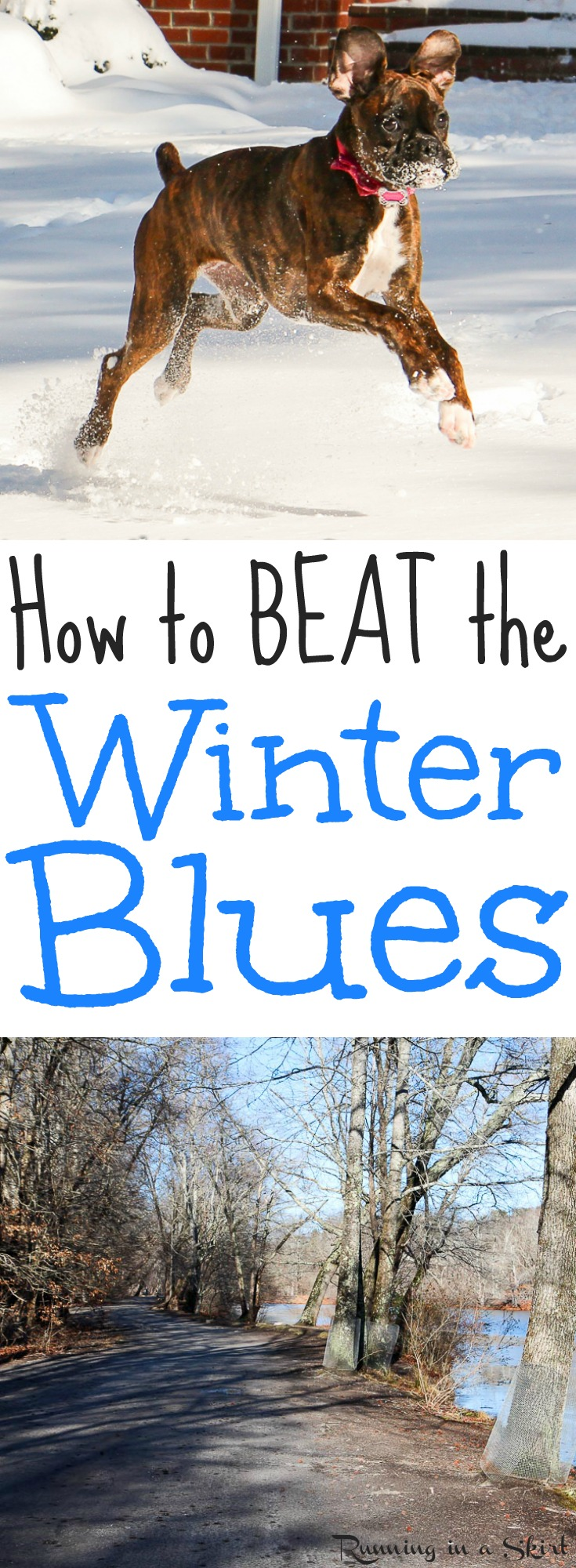 5 Self Care Hacks to Beat the Winter Blues. Includes tips to stay healthy and happy in the cold season and winter health tips for life! / Running in a Skirt  via @juliewunder
