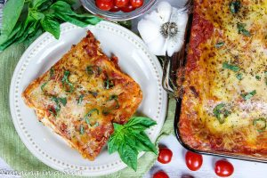 Easy to Make Vegetarian Lasagna