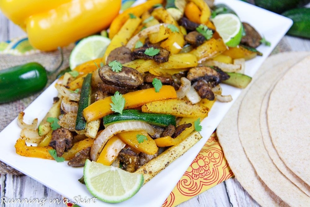 Sheet Pan Vegetarian Oven Fajitas recipe