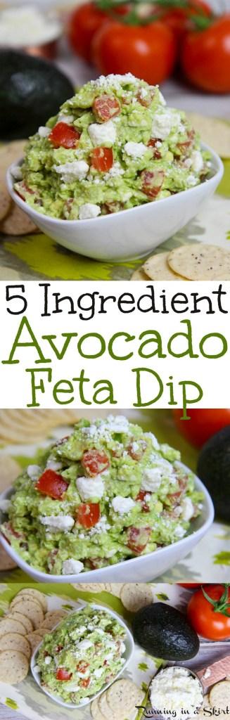 Avocado Feta Dip recipe