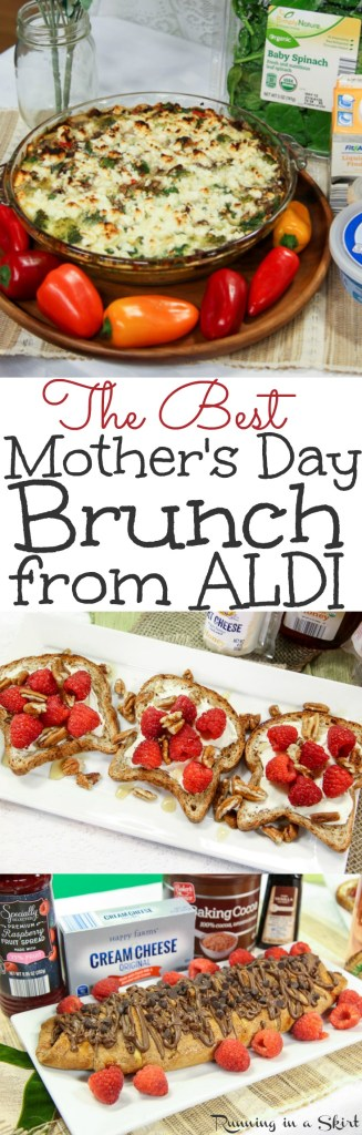 The Best Mothers Day Brunch Ideas From Aldi Running In A Skirt