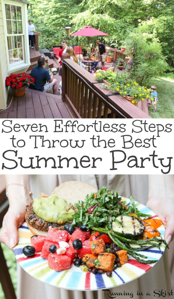 Summer Party Tips - How to Throw a Summer Party