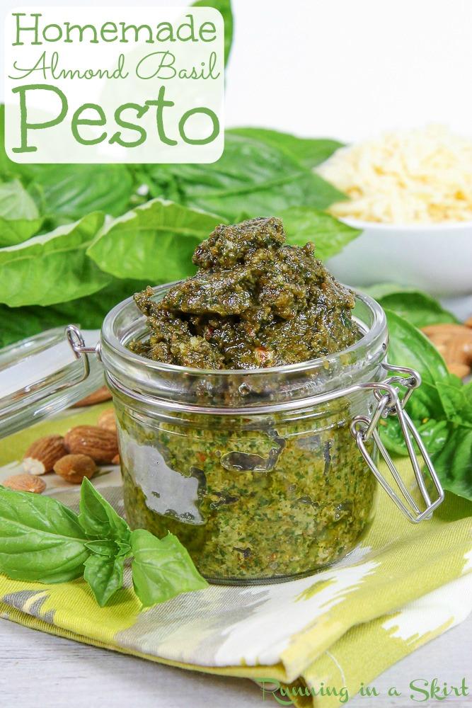 Homemade Basil Almond Pesto recipe