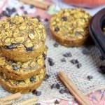 Chocolate Chip Pumpkin Baked Oatmeal Cups recipe