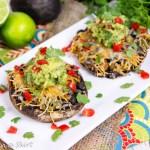 Mexican Vegetarian Taco Stuffed Mushrooms