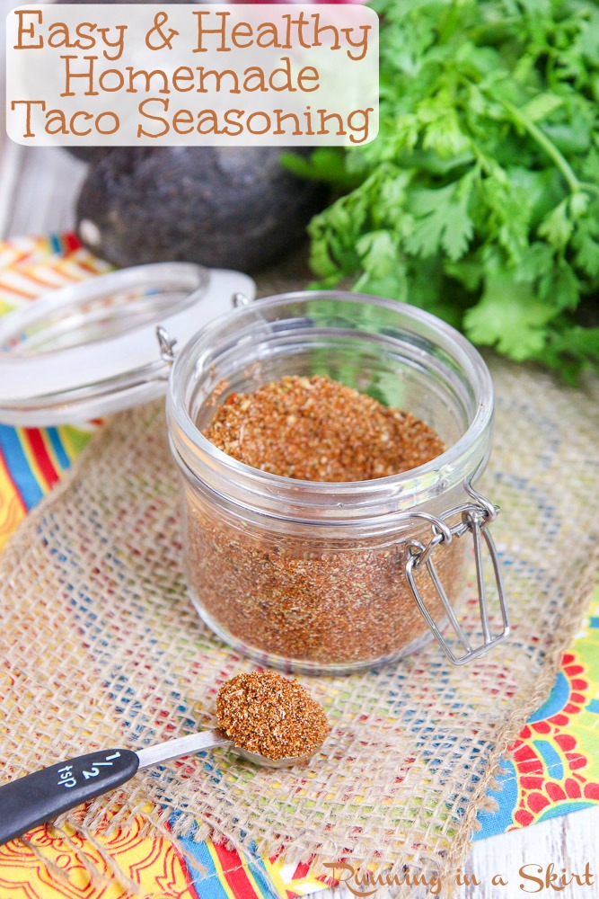 easy and healthy Mexican Spice Mix recipe