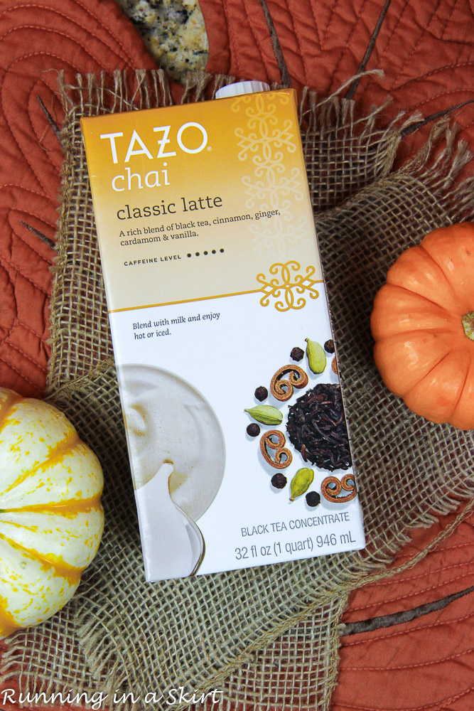 Box of Tazo.
