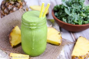 Kale Pina Colada Smoothie recipe