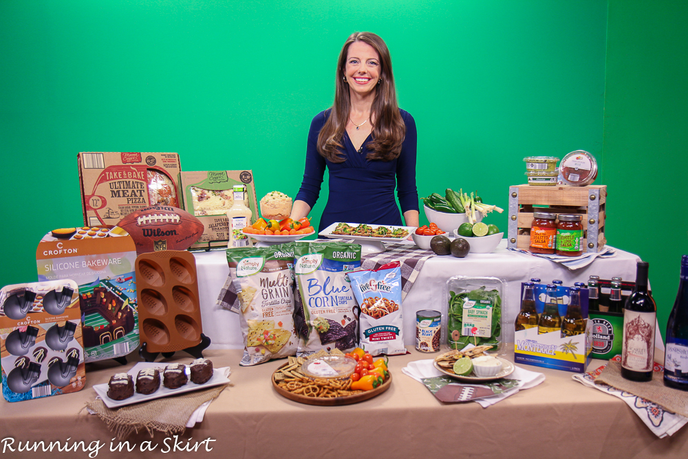 12 Healthy Snacks for Super Bowl Sunday from ALDI | Running in a Skirt