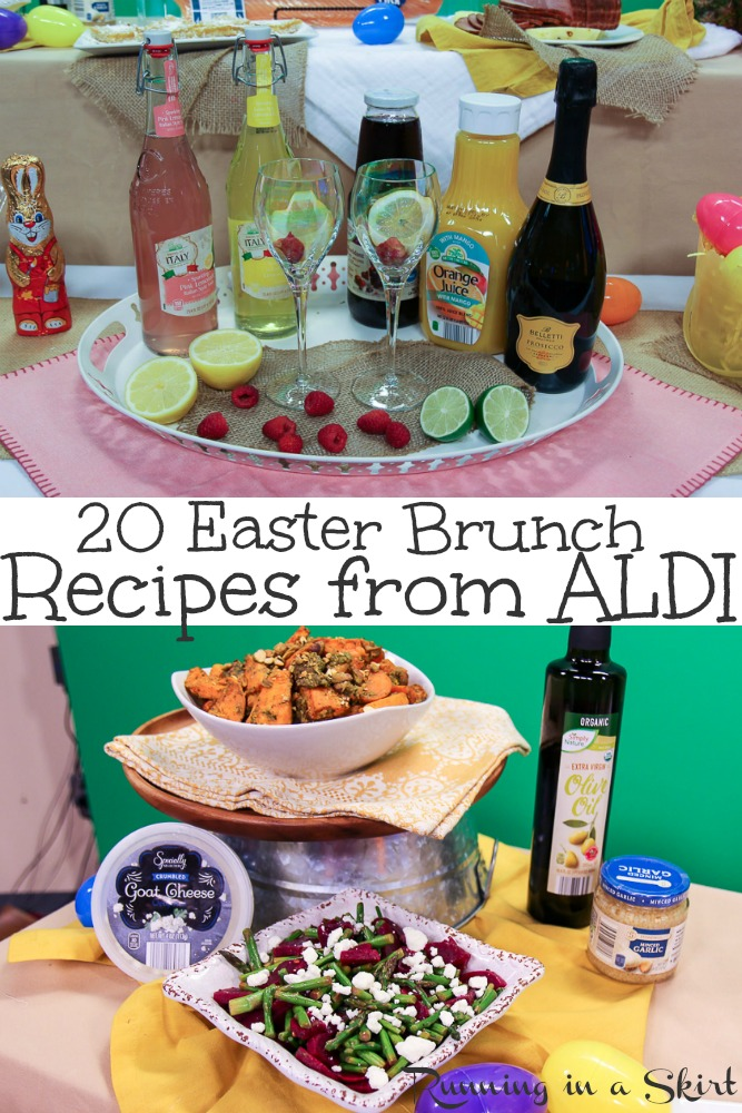 20 Easter Recipe Ideas – simple & healthy dinner and brunch ideas for families on a budget from @aldiusa.  Includes the best main courses, side dishes, salad and dessert – slow cooker, vegetarian & gluten free options too! #Easter #ALDI #ALDILove #budget #Easterbrunch #Easterdinner #healthy #vegetarian #glutenfree #recipe via @juliewunder