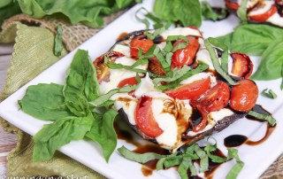 Caprese Stuffed Portobello Mushrooms recipe