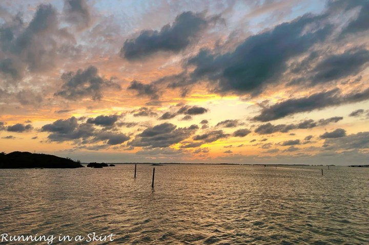 What to do in Hope Town Bahamas - watch the sunset.