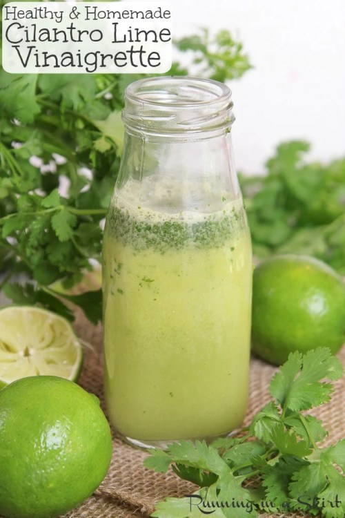 Cilantro Lime Vinaigrette recipe