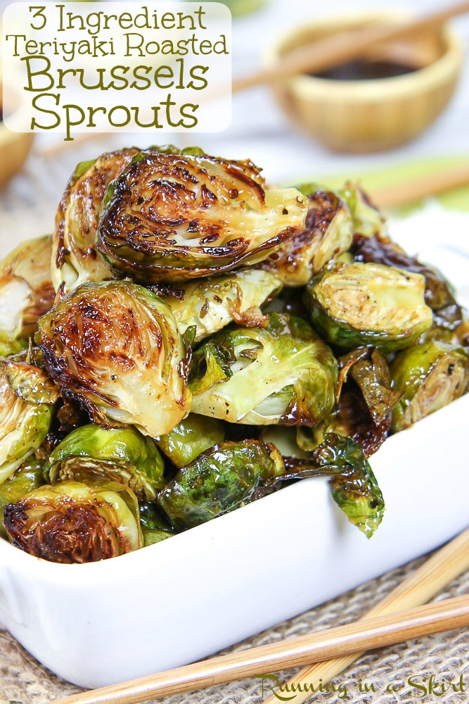 Roasted Teriyaki Brussels Sprouts recipe