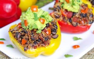 Vegetarian Mexican Stuffed Pepper recipe