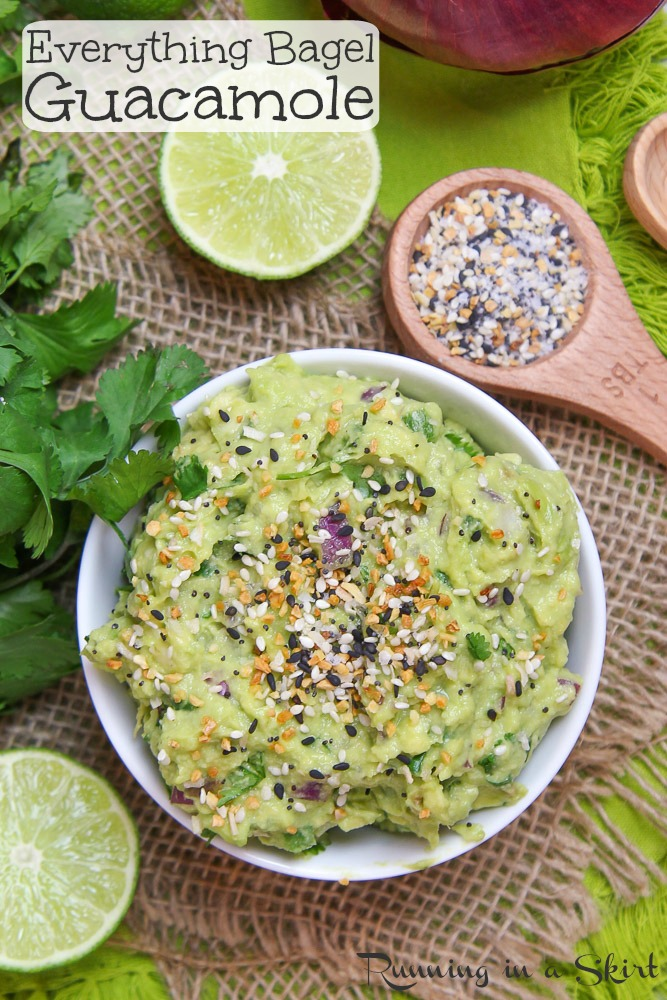 Everything Bagel Guacamole recipe
