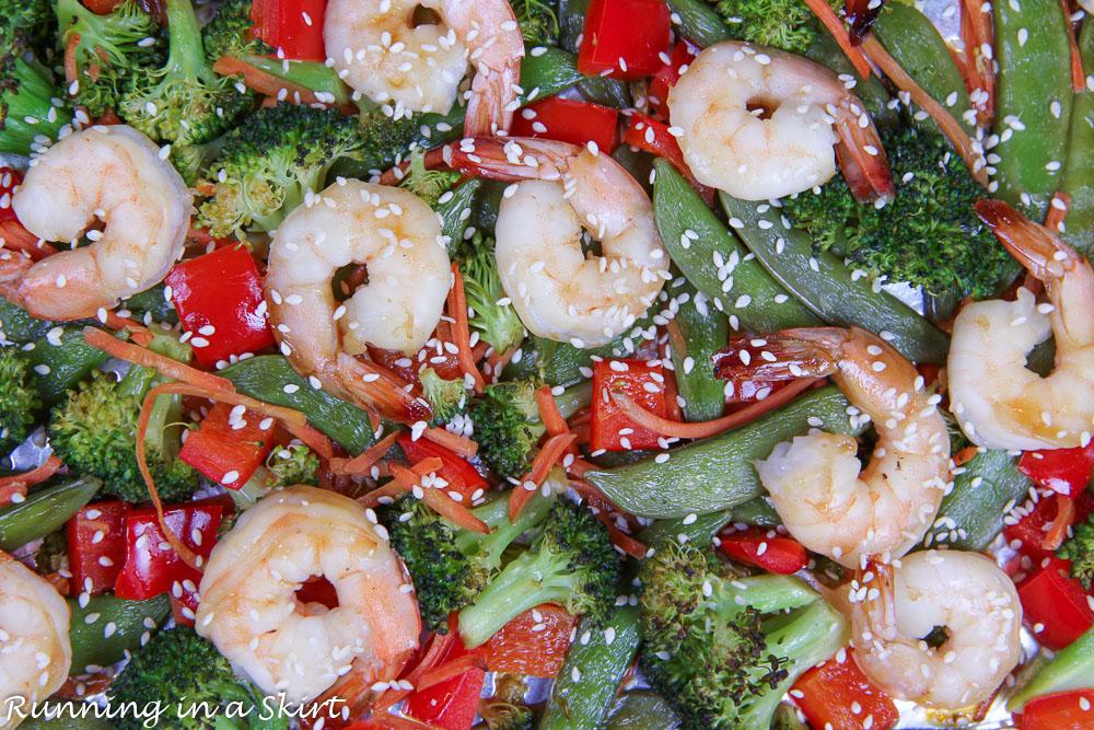Sheet Pan Shrimp Teriyaki recipe