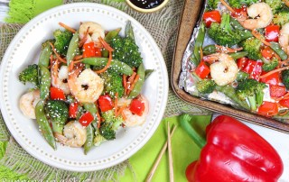 Sheet Pan Shrimp Teriyaki recipe