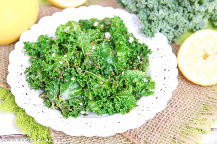 Sauteed Kale with Lemon and Garlic