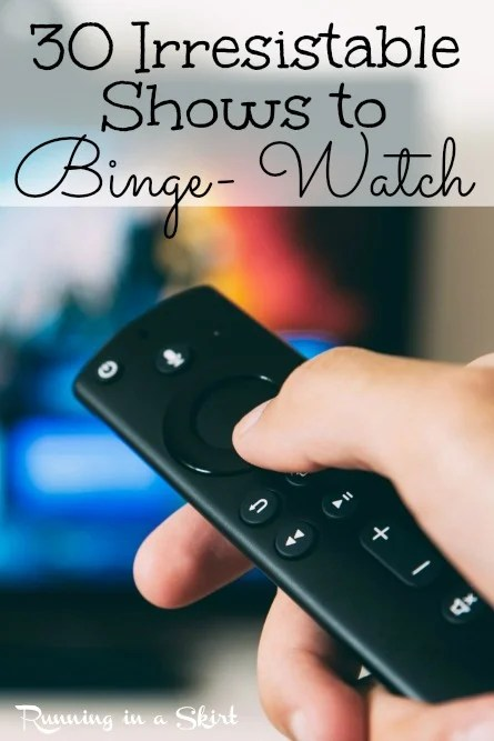 30 Irresistible Shows to Binge- Watch on Netflix, Amazon Prime and Disney+ including new options for 2020. Looking for a binge-worthy tv show for couples or women? Start here! via @juliewunder