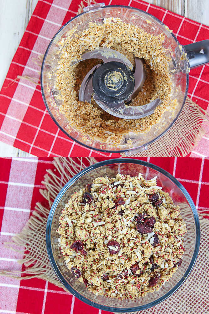 Process collage showing how to make the recipe.