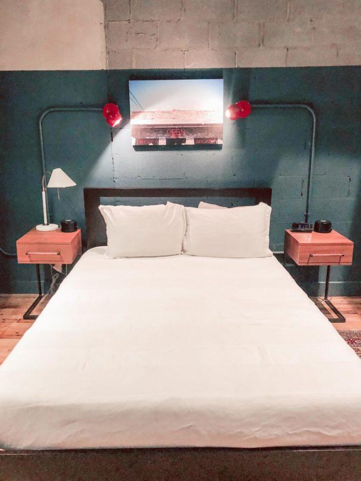 506 lofts, bedroom, Monkey Bar room, Nashville