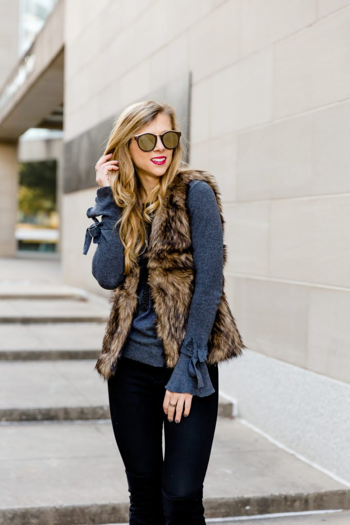 How to Choose the Best Winter Coats or vests featured by top US fashion and style blogger, Running in Heels