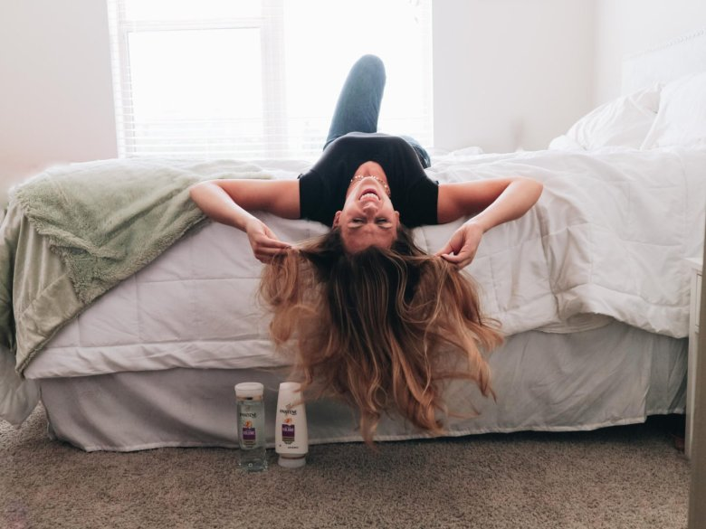 How To Get More Volume In Your Hair - Pantene - Running In Heels Blog