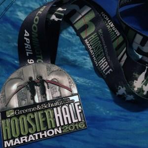 Hoosier Half Marathon | Favorite Race Medal | Friday Five | Running on Happy