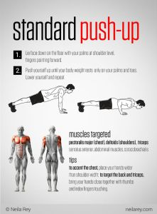 "Push-ups | 5 Fantastic ""No-Equipment"" Strength Moves! 