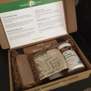 Amazing Grass Protein Superfood | Product Review | Running on Happy