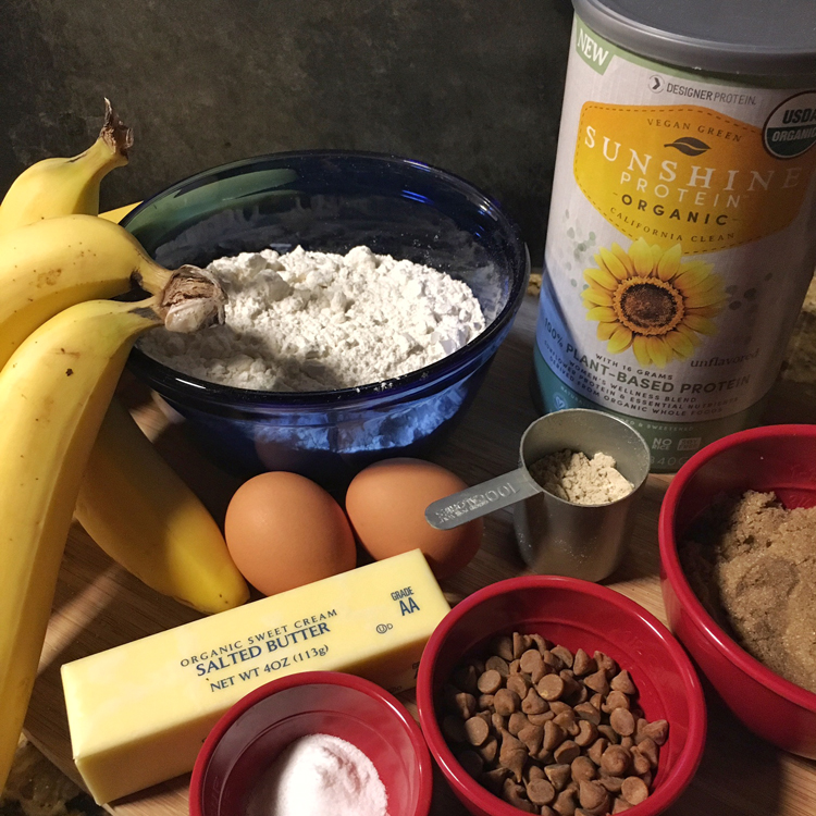 Protein Boosted Cinnamon Banana Bread   Meatless Monday   Running on Happy