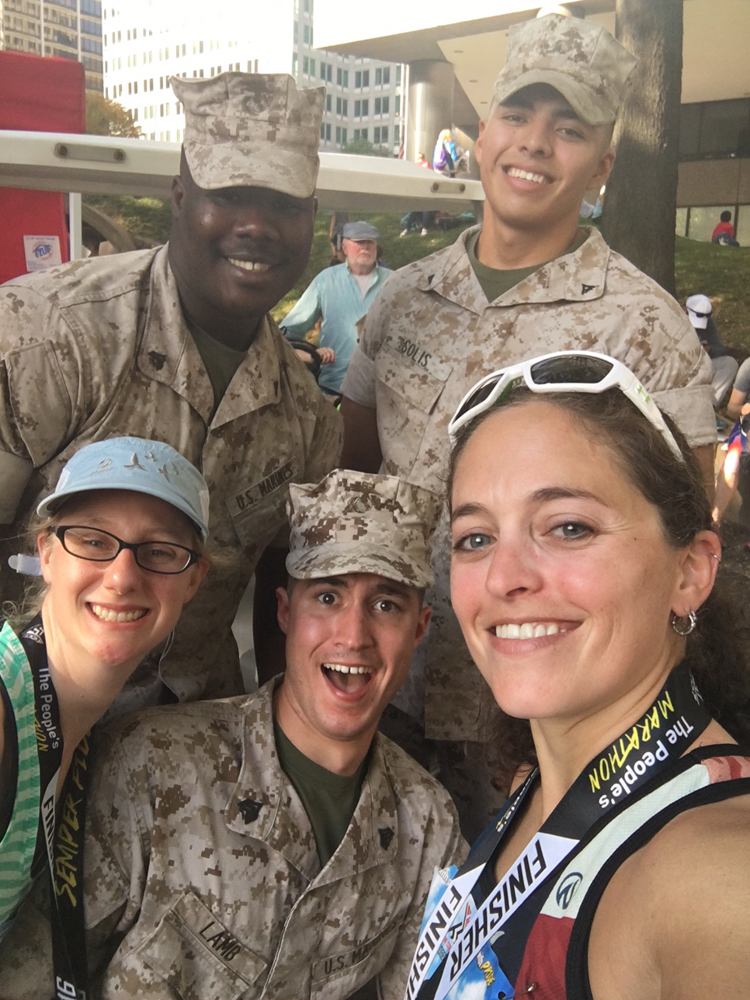 Marine Corps Marathon Race Recap | Running Coaches' Corner | Running on Happy