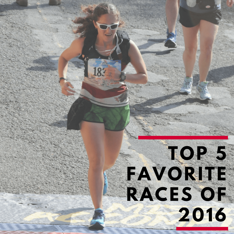 Top 5 Favorite Races of 2016 | Running on Happy