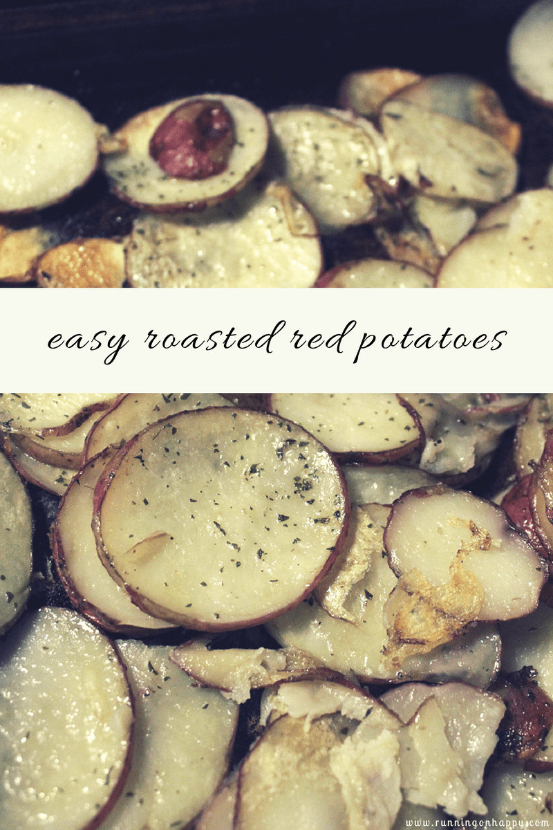 Easy Roasted Red Potatoes | Gluten-Free, Vegan | Meatless Monday | Running on Happy