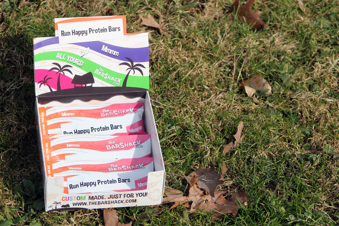 Create a Customized Protein Bar with The Bar Shack! | Running on Happy