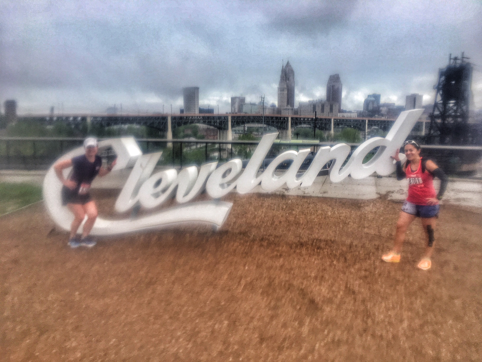 Cleveland Half Marathon Race Review | Running on Happy