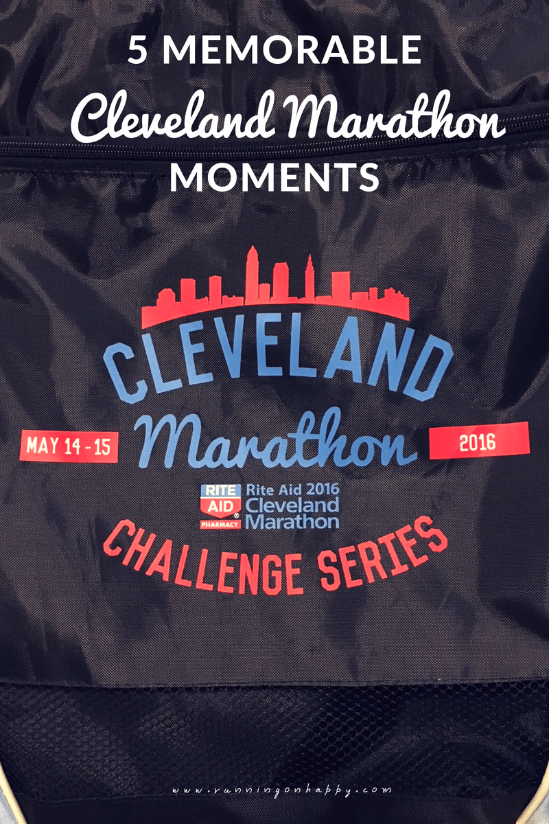 The Cleveland Marathon has given me so many fantastic memories. I'm kicking off race weekend with five of the most memorable Cleveland Marathon moments!