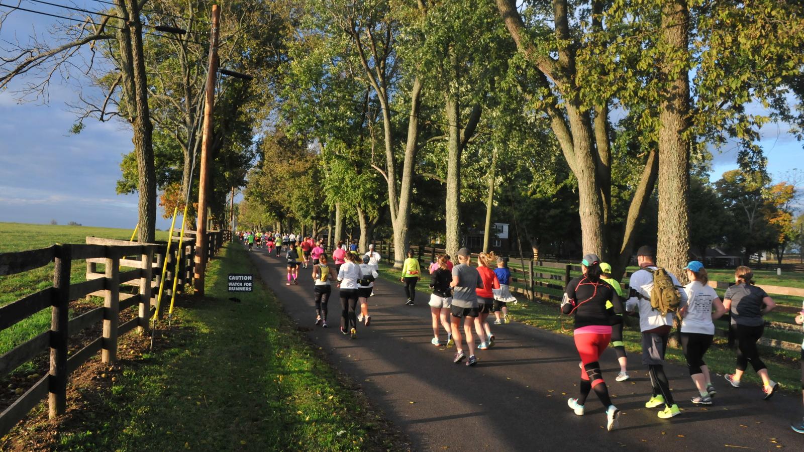 Looking for a Scenic Half Marathon? Run the Iron Horse! | Running on Happy