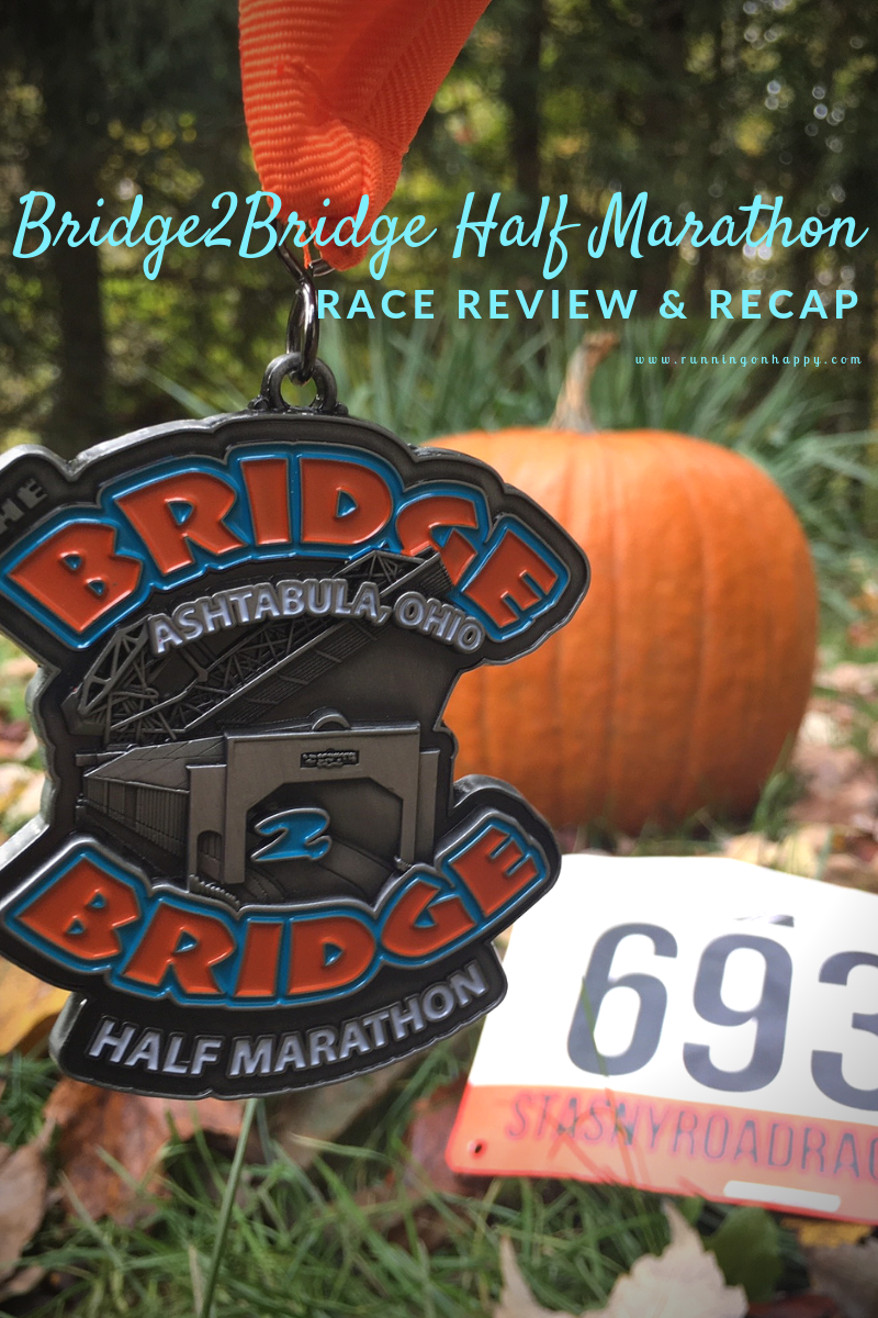 On Sunday I decided to fly under the radar and run a small, local half marathon called the Bridge2Bridge Half Marathon. After a doozy of a racing season, this race was just what I needed.