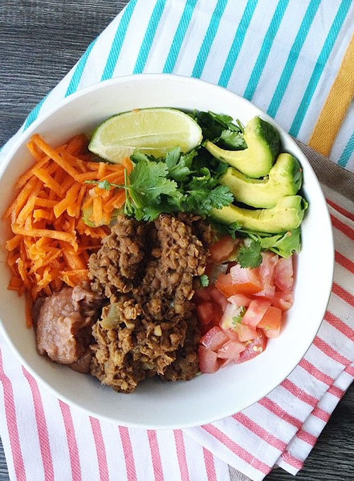 Lentil Salad for Vegan IIFYM