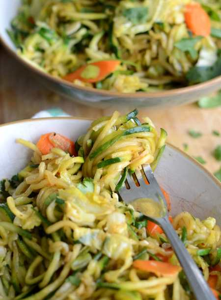 Healthy Low Carb Vegan Chow Mein