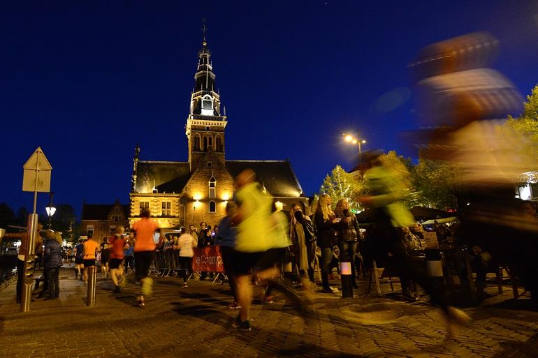 Alkmaar City Run by night