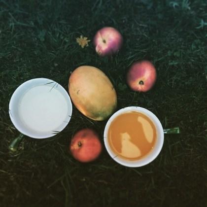 Nectarine kokos smoothie
