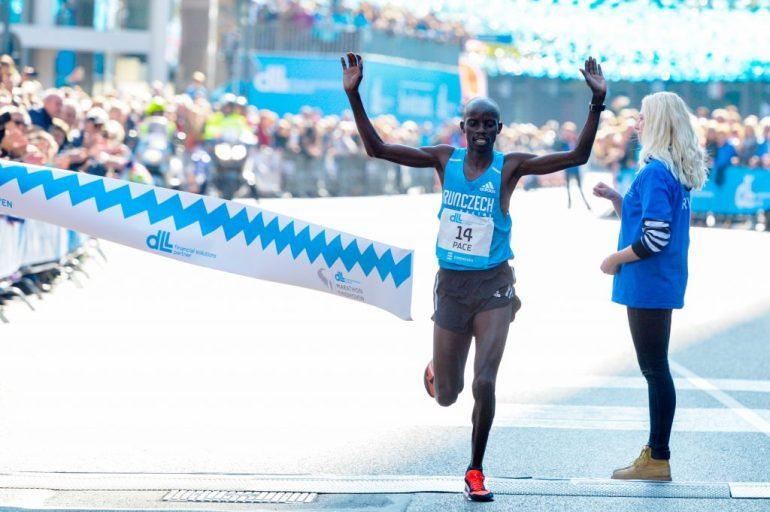 Marathon Eindhoven met Festus Talam