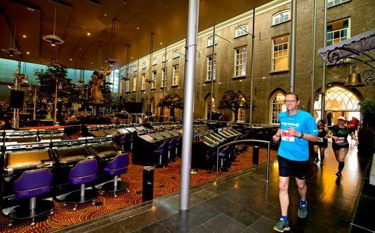 Holland Casino is de eerste locatie op het nieuwe parcours van de tweede Breda Urban Trail