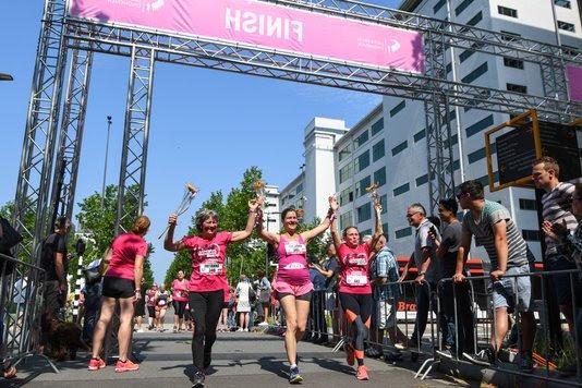Ladiesrun Eindhoven finish